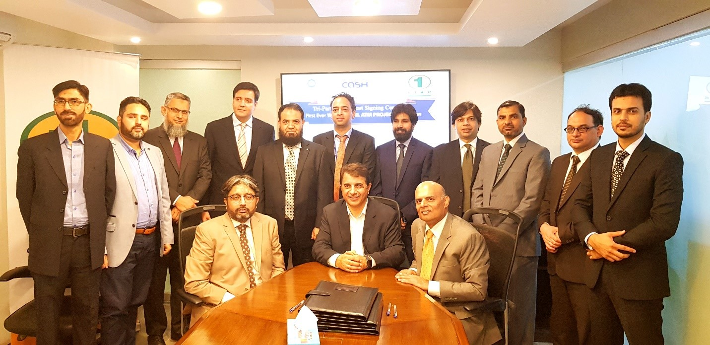 1LINK signs tri-partie agreement with Faysal Bank and Webdnaworks to enable the First White Label ATM Operator of Pakistan