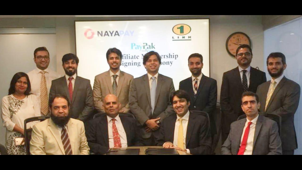 NayaPay becomes 1LINK's PakPak Affiliate Member with Meezan Bank as the Settlement Bank