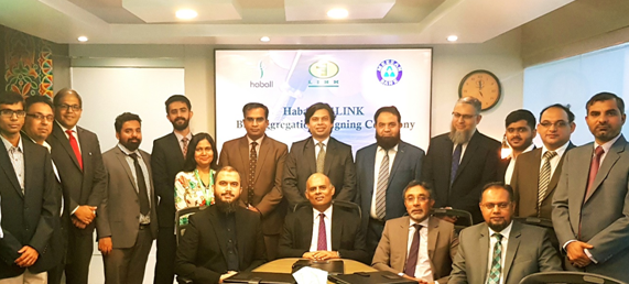 Meezan Bank, 1LINK and Haballsign an agreement to accelerate digitization of B2B payments in Pakistan