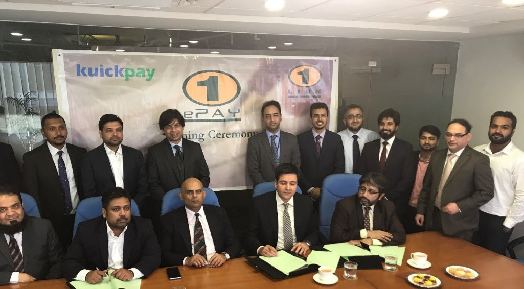 Tripartite agreement amongst 1LINK, Innovarge and Faysal Bank Limited (FBL)