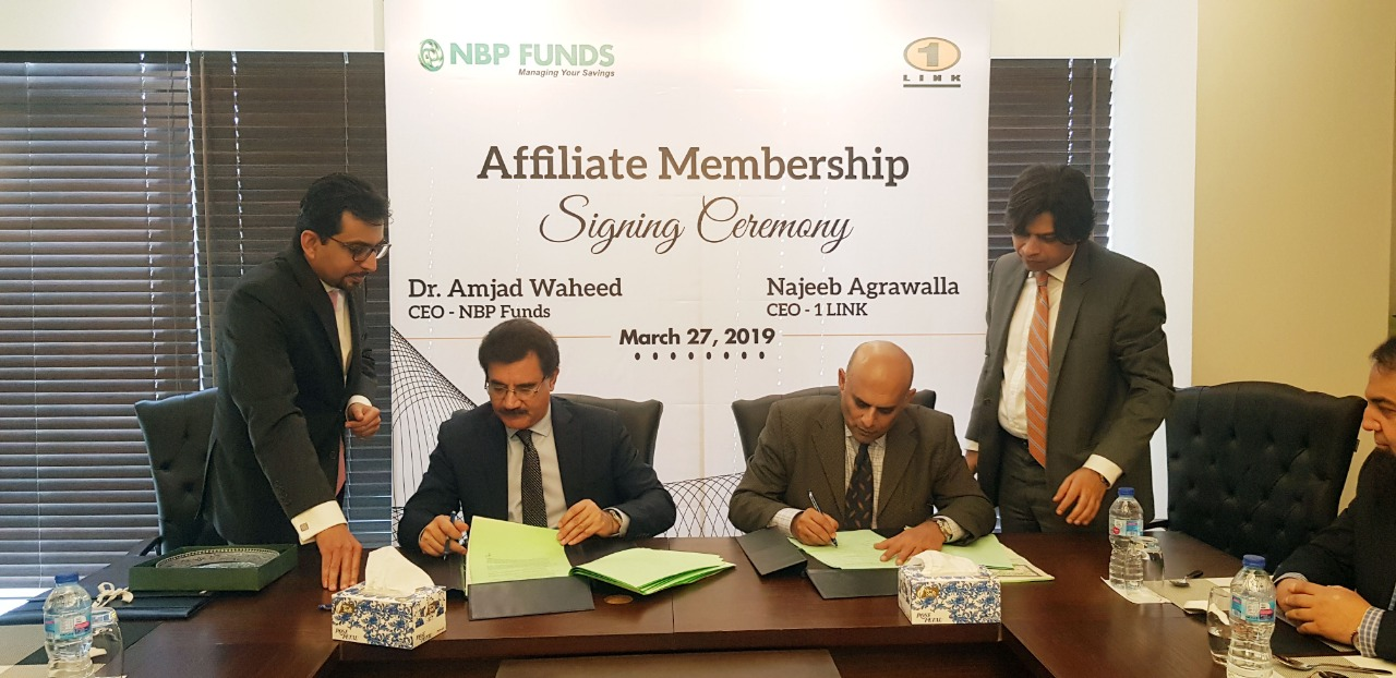 NBP Funds signs PayPak Affiliate Member agreement with 1LINK