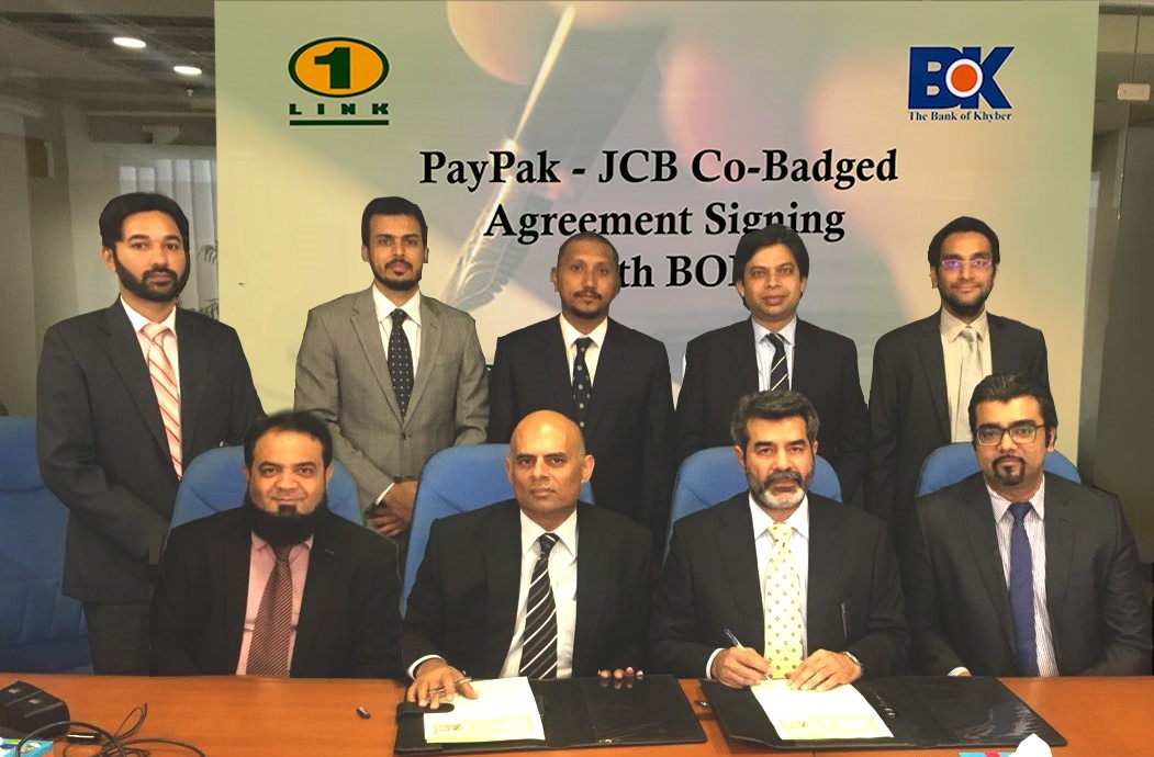 PayPak – JCBI Co-Badged Signing Agreement with BOK