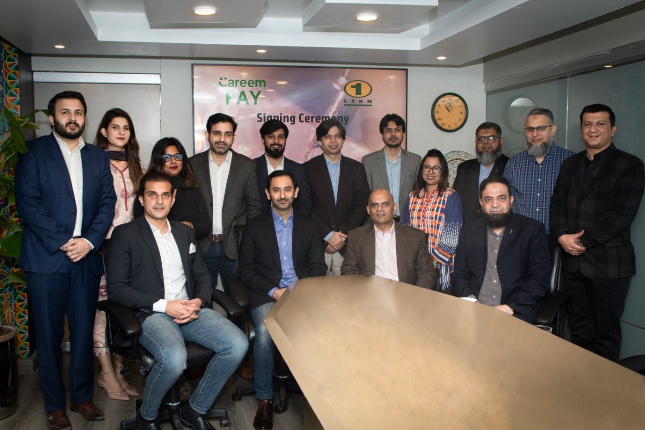 Careem PAY partners with 1LINK to Digitize Payment Solution