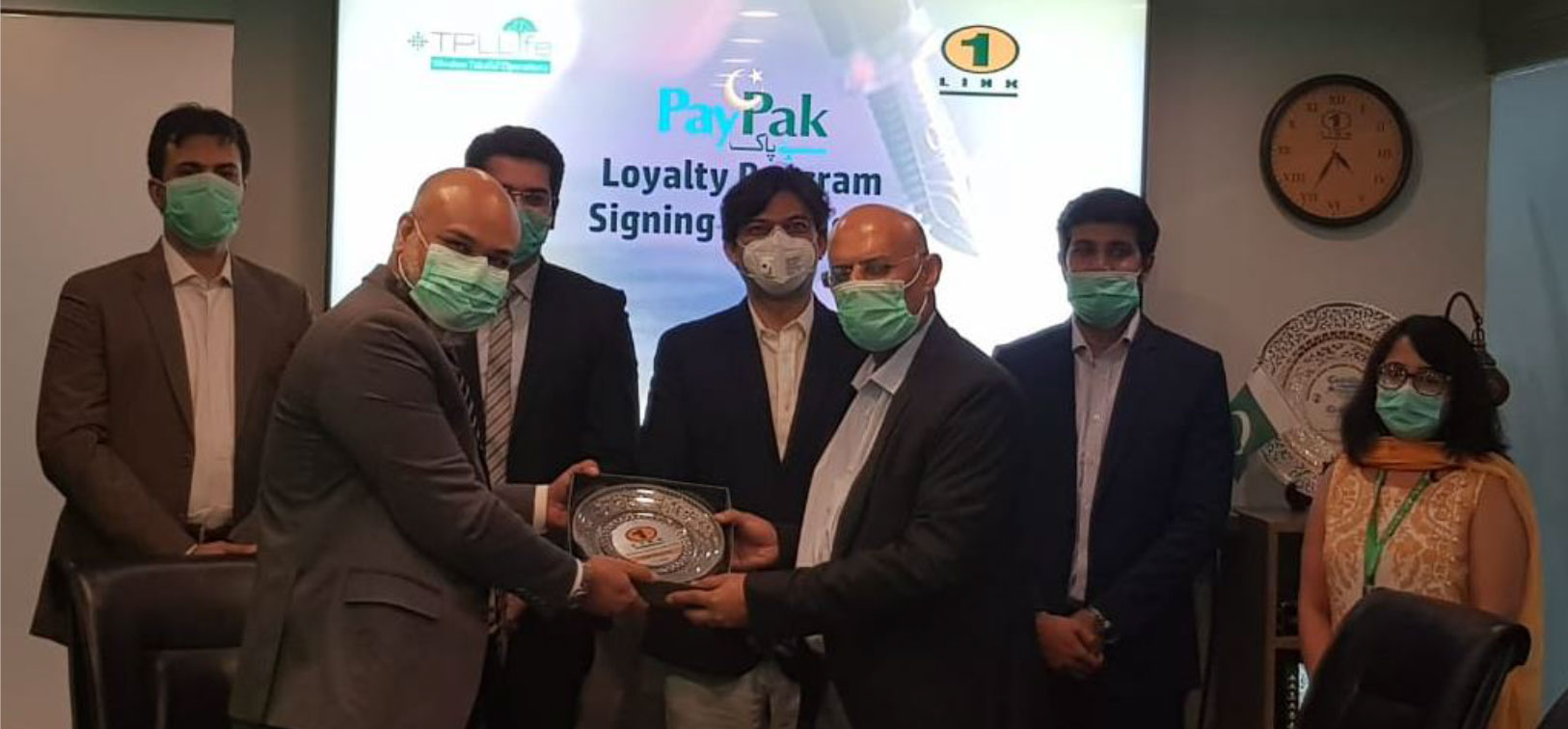 1LINK and TPL Life -collaborate to launch PayPak Loyalty Program with Takaful coverage to PayPak Cardholders of Islamic Banking